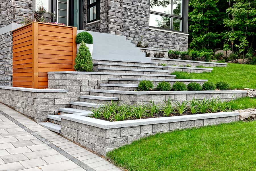 retaining wall supplier Seattle